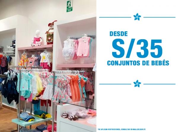 DESDE S/35. CONJUNTOS DE BEBÉS - Plaza Norte