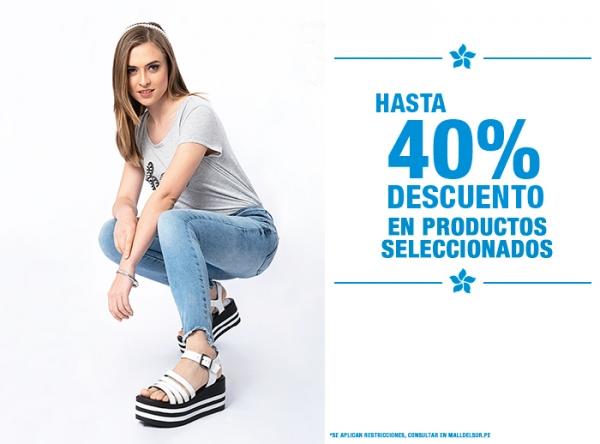 HASTA 40% DCTO EN PRODUCTOS SELECCIONADOS - Ecco - Mall del Sur