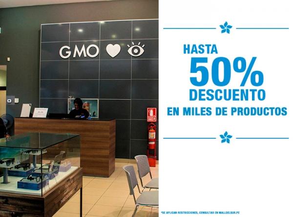 HASTA 50% DCTO EN MILES DE PRODUCTOS - GMO - Mall del Sur