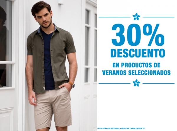 30% DCTO EN PRODUCTOS DE VERANO SELECCIONADOS - Plaza Norte