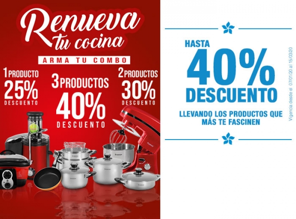 HASTA 40% DCTO LLEVANDO LOS PRODUCTOS QUE MAS TE FASCINEN - Finezza - Mall del Sur