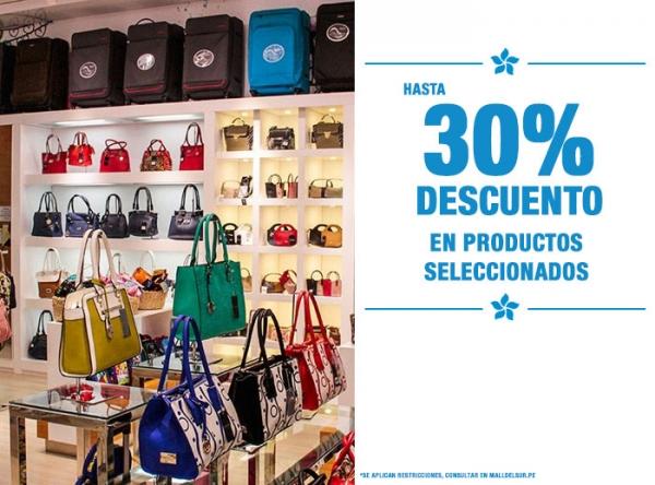 HASTA 30% DCTO EN PRODUCTOS SELECCIONADOS - TIZZA - Mall del Sur