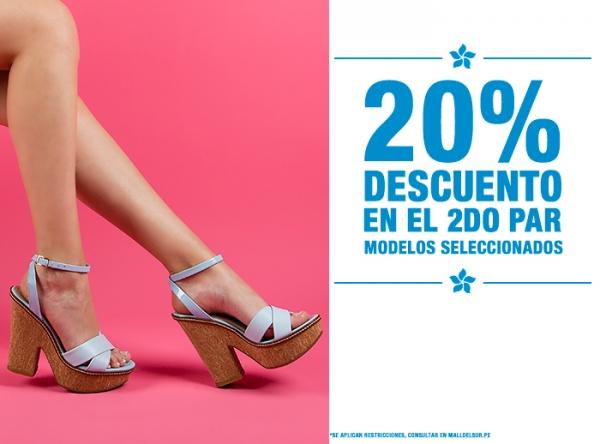 20% DCTO EN EL 2DO PAR  - Viale - Mall del Sur