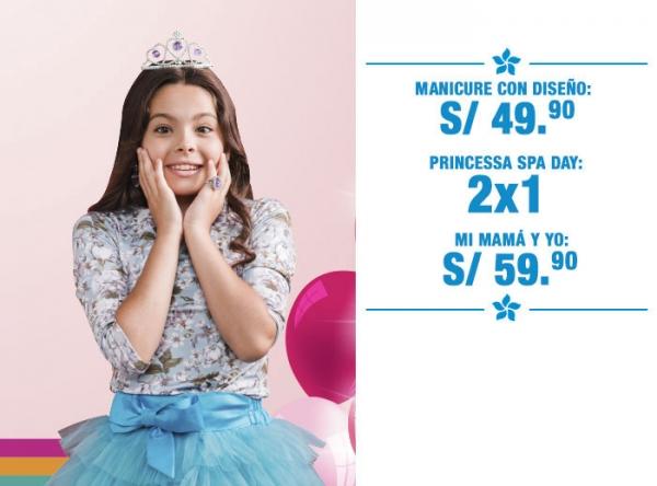 PROMOCIONES EN PRINCESSA SPA PRINCESSA  - Mall del Sur
