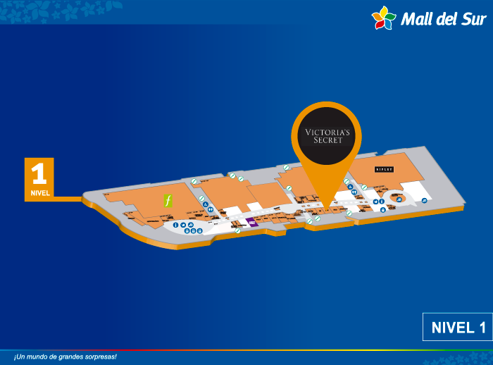 VICTORIA'S SECRET - Mapa de Ubicación - Mall del Sur