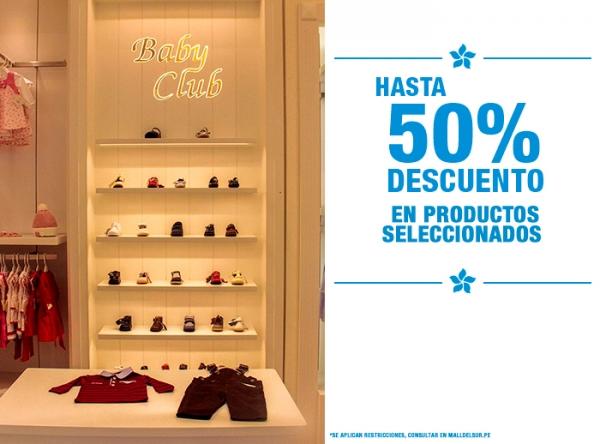 HASTA 50% DCTO PROD. SELEC. - Plaza Norte