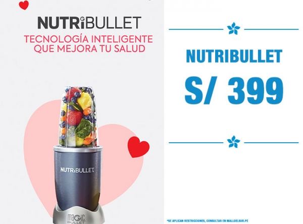 NUTRIBULLET A S/399 - Quality Store - Mall del Sur