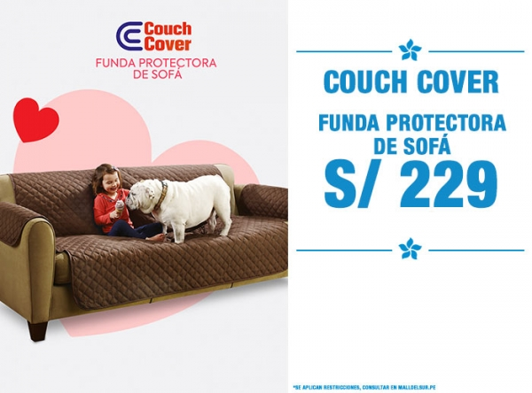 COUCH COVER A S/229 - Quality Store - Mall del Sur