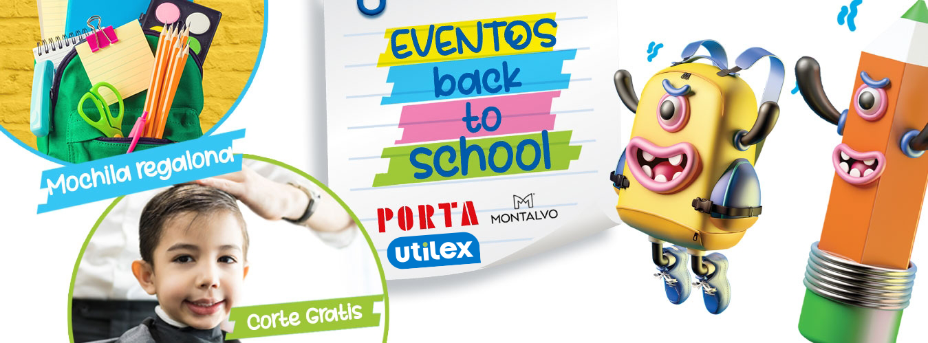 BANNER: BACK TO SCHOOL - Mall del Sur