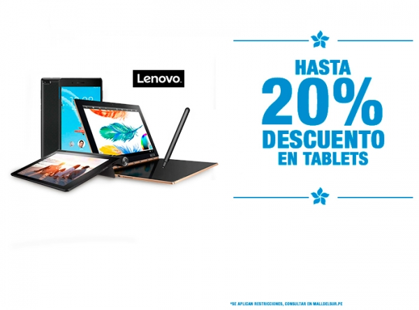 HASTA 20% EN TABLETS - Plaza Norte