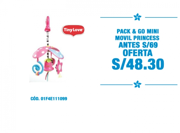 PACK & GO MINI MOVIL PRINCESS A S/48.30 - Plaza Norte