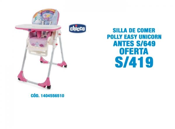 SILLA DE COMER POLLY EASY A S/419 - Plaza Norte