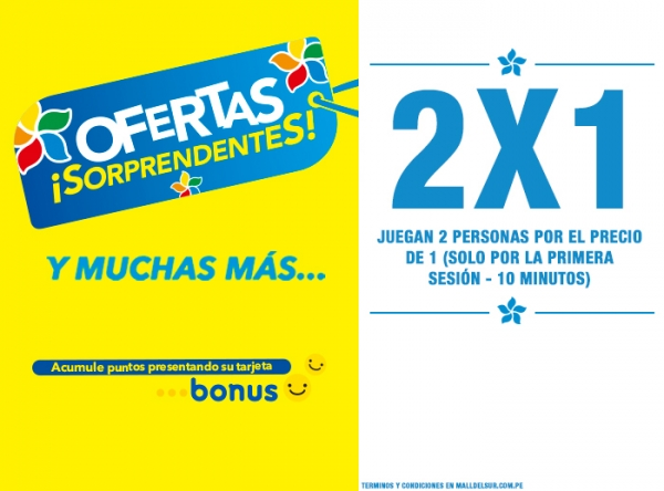 OFERTAS SORPRENDENTES - VIRTUAL X - Plaza Norte