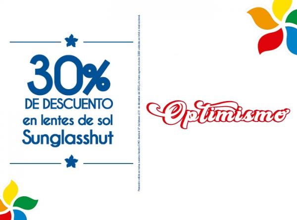 30% DSCCTO EN LENTES SUNGLASSHUT - GMO - Mall del Sur