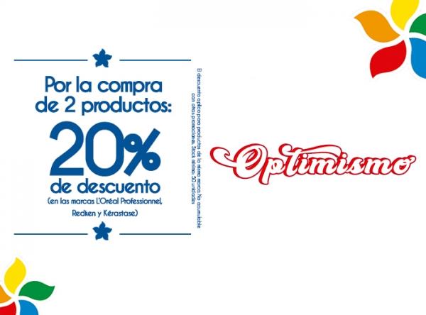 20% DSCTO POR COMPRA DE 2 PRODUCTOS - L'OREAL - Mall del Sur