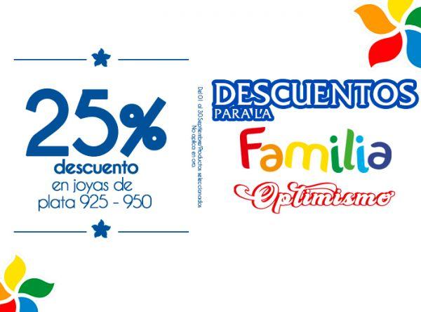 25% DSCTO EN JOYAS DE PLATA 925 - 950 ARTEMISA - Mall del Sur
