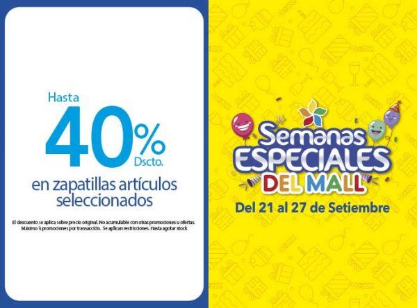 HASTA 40% DSCTO EN ZAPATILLAS  - Bata - Mall del Sur