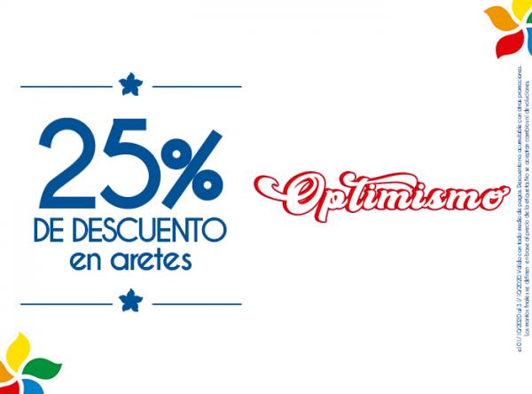 25% DSCTO EN ARETES  Belle Accesorios - Mall del Sur