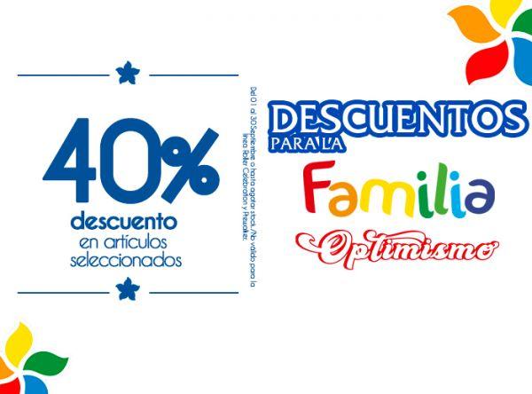 40% DSCTO EN ARTÍCULOS SELECCIONADOS   BIBI - Mall del Sur