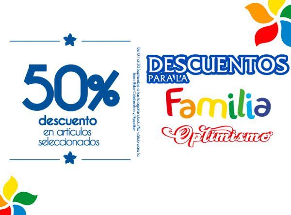 50% DSCTO EN ARTÍCULOS SELECCIONADOS  BIBI - Mall del Sur