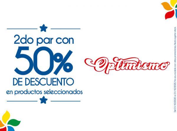 2DO PAR CON 50% DSCTO EN PRODUCTOS SELECCIONADOS  BIBI - Mall del Sur
