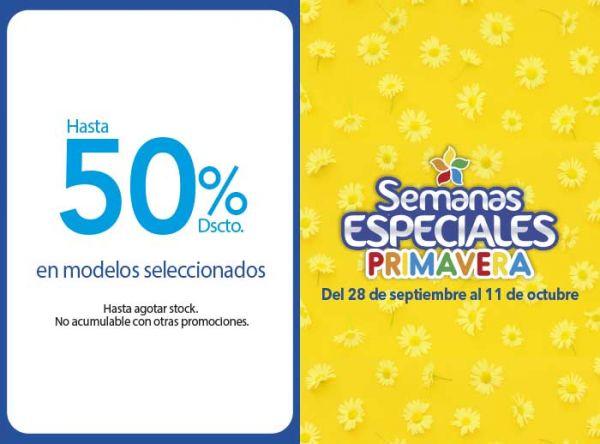 HASTA 50% DSCTO EN MODELOS SELECCIONADOS  Calimod - Mall del Sur