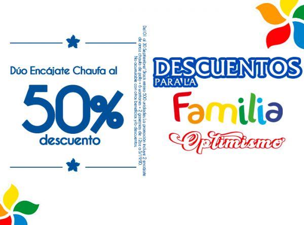 DÚO ENCÁJATE CHAUFA AL 50% DSCTO Chinawok - Mall del Sur