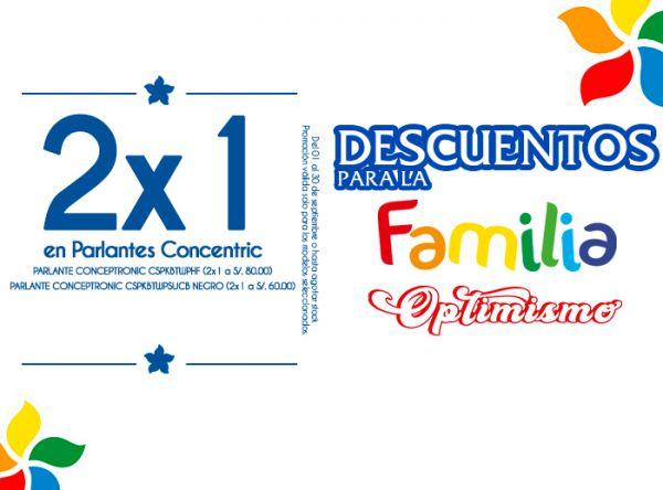 2X1 EN PARLANTES CONCENTRIC - COMPUUSA - Mall del Sur