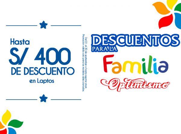 HASTA S/400 DE DSCTO EN LAPTOS - COMPUUSA - Mall del Sur