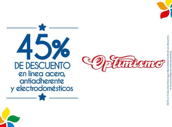 45% DSCTO EN LÍNEA ACERO, ANTIADHERENTE Y ALECTRODOMÉSTICOS  Finezza - Mall del Sur