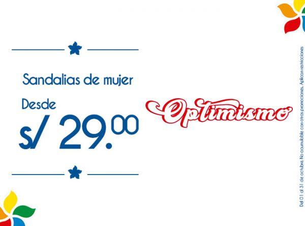 SANDALIAS DE MUJER DESDE S/29.00 FOOTLOOSE - Mall del Sur