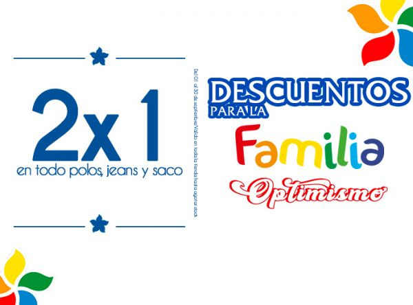 2X1 EN TODO POLOS, JEANS Y SACO JOHN HOLDEN - Mall del Sur