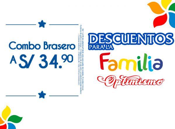 COMBO BRASERO A S/34.90 Mediterraneo - Mall del Sur