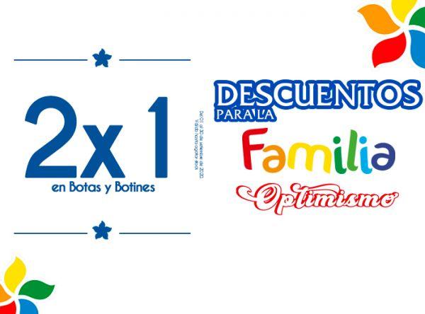 2X1 EN BOTAS Y BOTINES  MOSSA SHOES - Mall del Sur