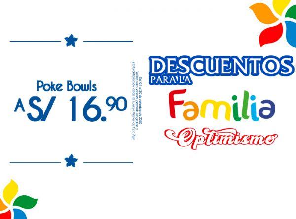 POKE BOWLS A S/16.90 Mr. Sushi - Mall del Sur