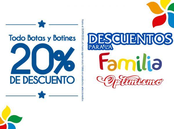 20% DSCTO EN TODO BOTAS Y BOTINES  Platanitos - Mall del Sur