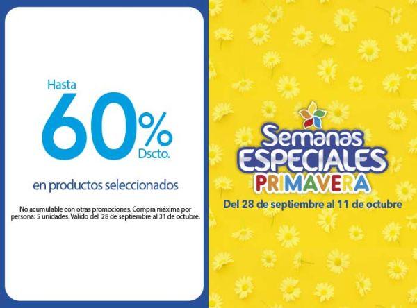 HASTA 60% DSCTO EN PRODUCTOS SELECCIONADOS Porta - Mall del Sur