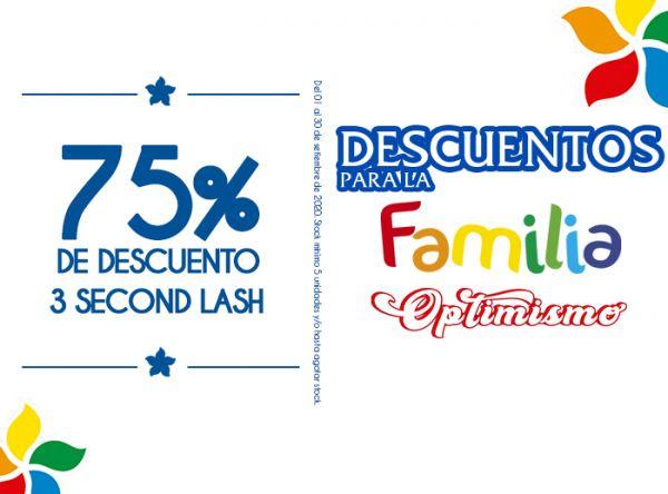 75% DSCTO EN 3 SECONF LASH - Quality Store - Mall del Sur