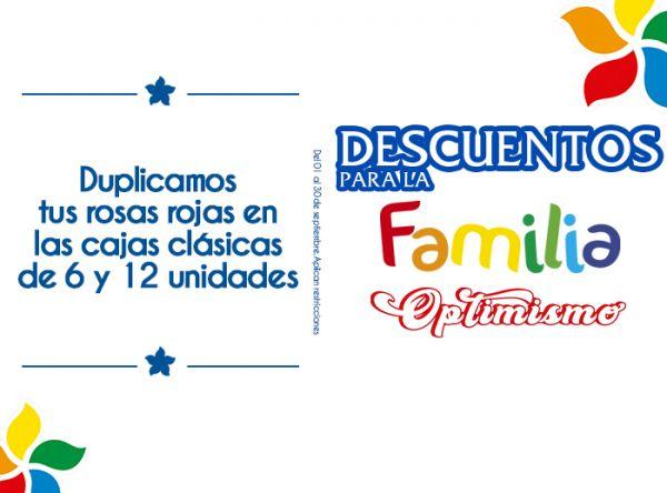 DUPLICAMOS TUS ROSAS ROJAS EN LAS CAJAS CLÁSICAS DE 6 Y 12 UNIDADES  Rosatel - Mall del Sur