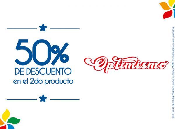 50% DSCTO EN EL 2DO PRODUCTO SUNTIME - Mall del Sur