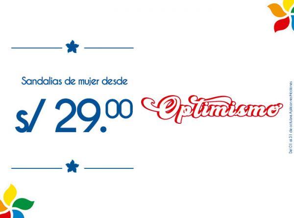 SANDALIAS DE MUJER DESDE S/29.00 Top Model - Mall del Sur