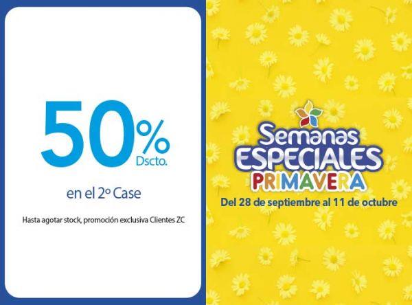 50% DSCTO EN EL 2DO CASE - Plaza Norte