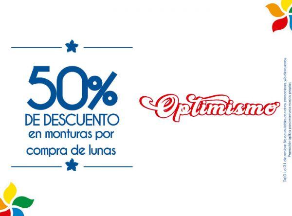 50% DSCTO EN MONTURAS POR COMPRA DE LUNAS Econolentes By Grand Vision - Mall del Sur