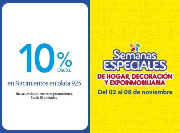 10% DSCTO EN NACIMIENTOS EN PLATA 925 - Plaza Norte
