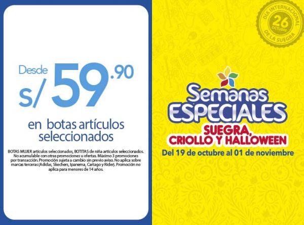 BOTAS SELECCIONADAS DESDE S/59.90 Bata Woman - Mall del Sur