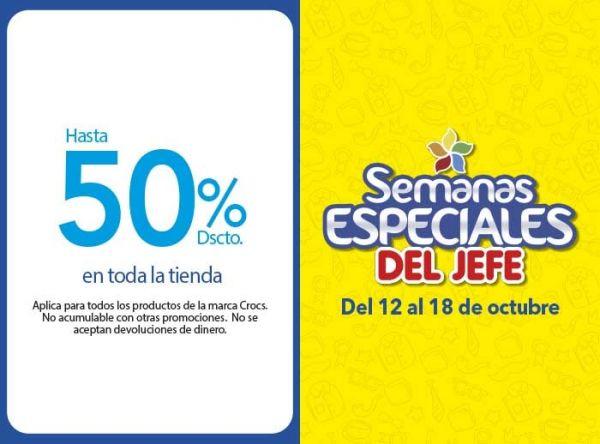 HASTA 50% DSCTO EN TODA LA TIENDA  - Plaza Norte