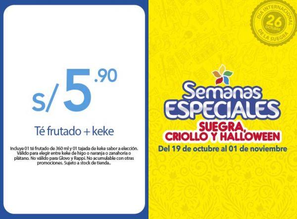 TÉ FRUTADO + KEKE A S/ 5.90 Frutix - Mall del Sur