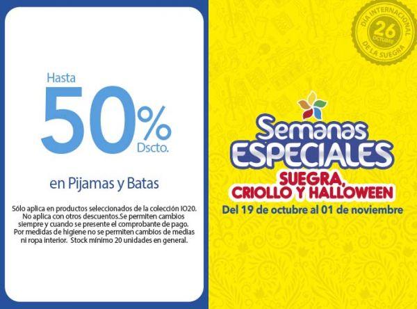 HASTA 50% DSCTO EN PIJAMAS Y BATAS  KAYSER - Mall del Sur