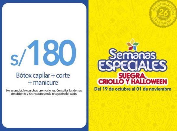 BÓTOX CAPILAR + CORTE + MANICURE A S/180 MONTALVO - Mall del Sur