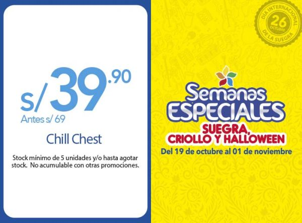CHILLL CHEST A S/39.90 Quality Store - Mall del Sur